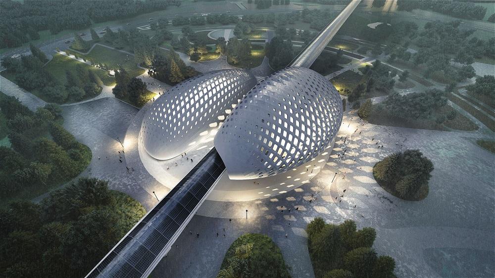 La société de conseil en conception Dar Al-Handasah a travaillé sur le projet HyperloopTT - DR