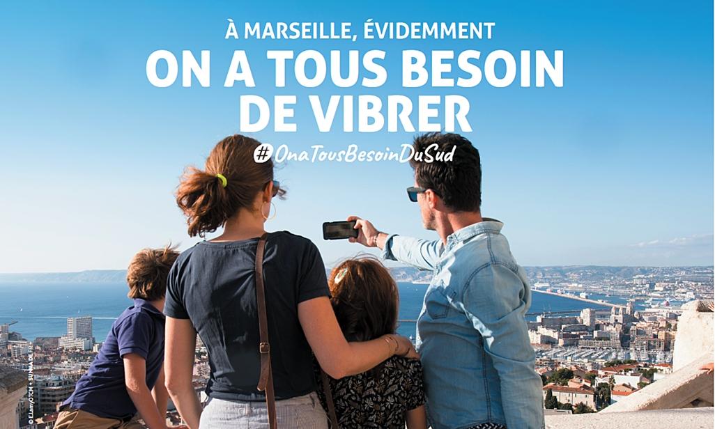 """La région Sud : Provence Alpes Côte d'Azur lance une grande campagne de promotion  """"OnaTousbesoinduSud - DR"""