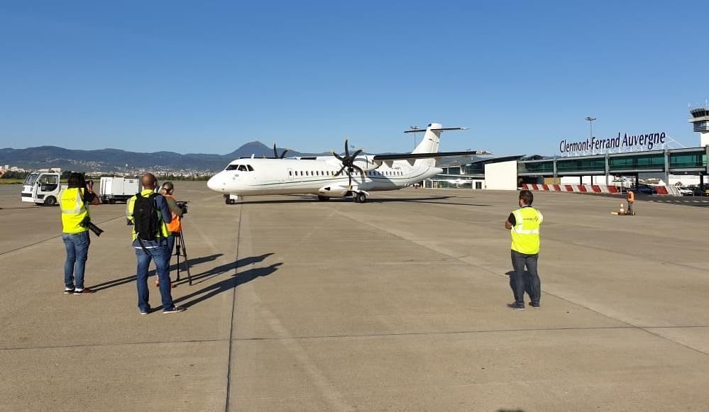 Le gestionnaire de l'aéroport de Clermont-Ferrand Auvergne vient d'annoncer que l'infrastructure sera dorénavant approvisionnée en biocarburants aériens durables - DR : Aéroport de Clermont-Ferrand Auvergne