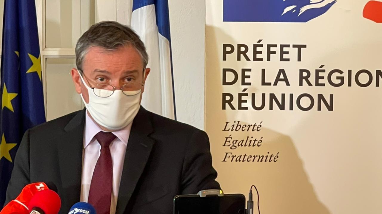 Le Préfet de la Réunion fera un point ce mercredi sur l'épidémie de coronavirus - DR Facebook Préfecture Réunion