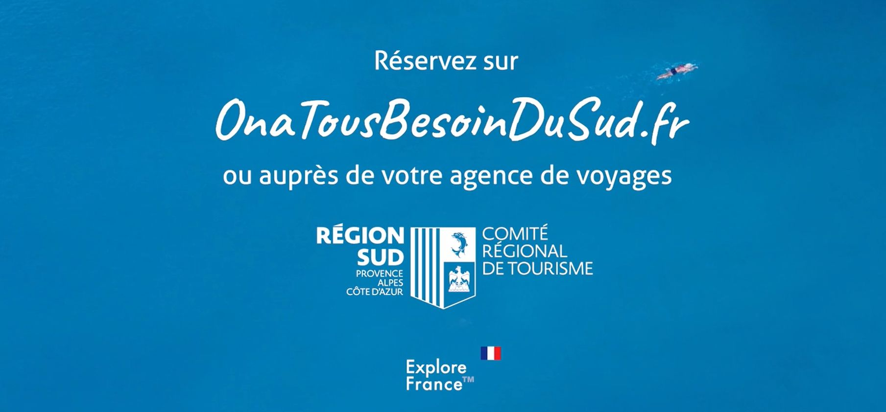 La campagne lancée par la Région SUD Provence-Alpes Côte d'Azur va également renvoyer vers les agences de voyages - DR