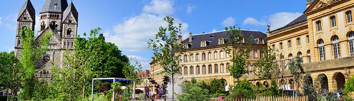 Jardin d'été place de la Comédie © Philippe Gisselbrecht - Ville de Metz