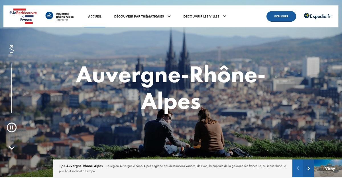 Auvergne-Rhône-Alpes Tourisme lance une campagne digitale inédite avec Expedia et 7 villes de la région