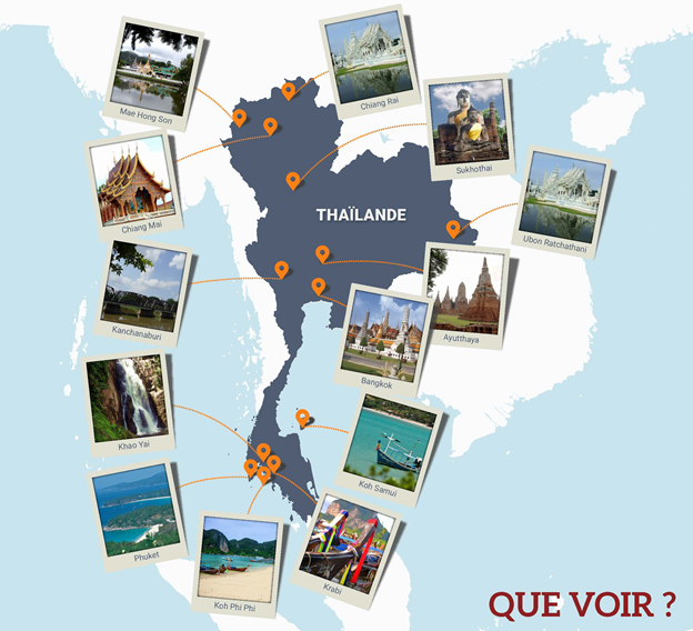 Découvrez la Thaïlande avec Phoenix Voyages