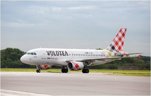 Volotea annonce le lancement de 6 nouvelles au départ des aéroports français - DR