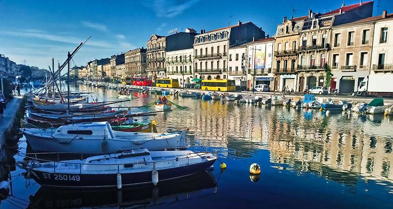 Sète et ses canaux © Sabrina Lucchese - Hérault Tourisme