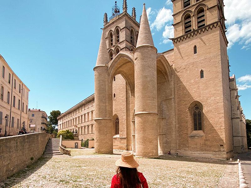 Cathédrale St Pierre © OTM Montpellier