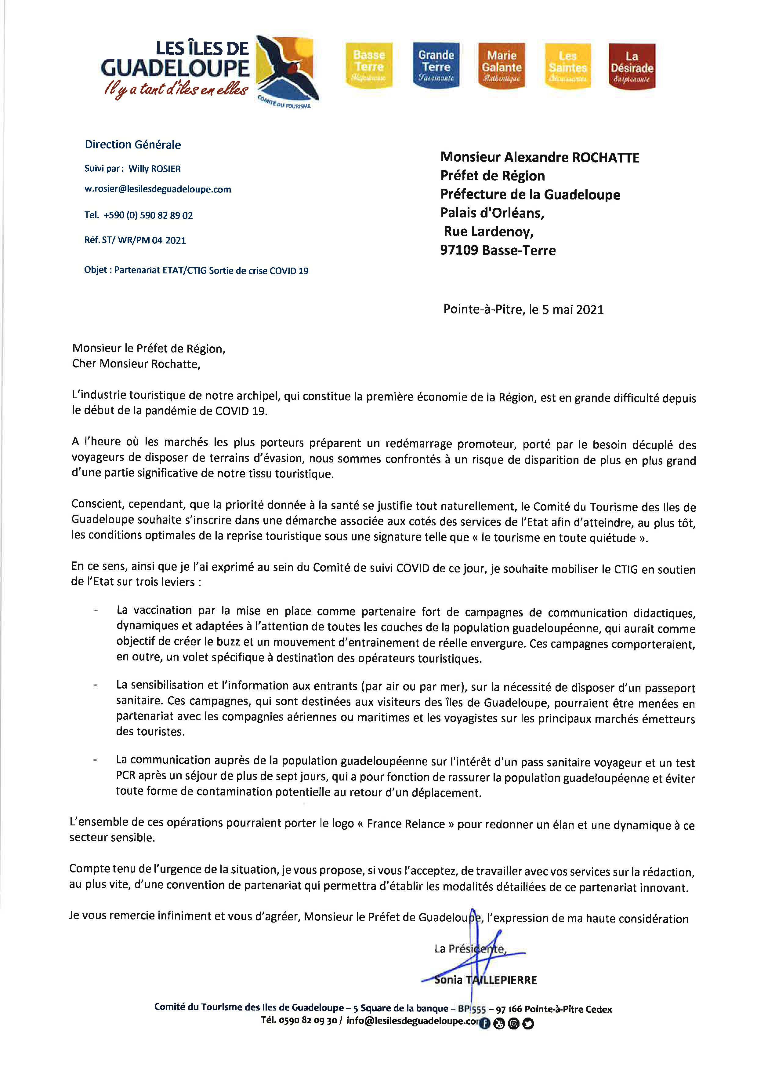 Guadeloupe : le CTIG propose un plan stratégique de sortie de crise