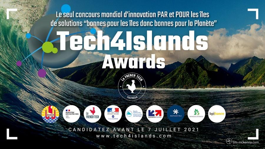 Tech4Islands Awards lance sont 3e concours de start-up par et pour les îles - Crédit photo : Tech4Islands Awards