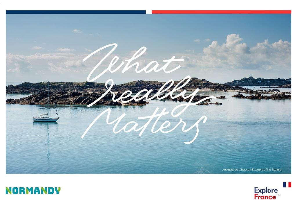 Un des visuels de la campagne de promotion d'Atout France - DR