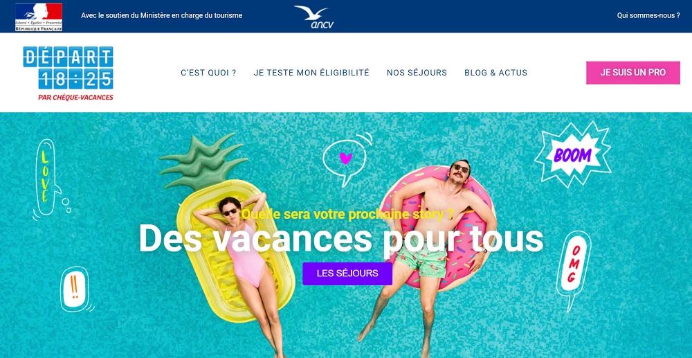 L'Agence Nationale pour les Chèques-Vacances aide les 18-25 ans jusqu'à 200 euros par personne - DR