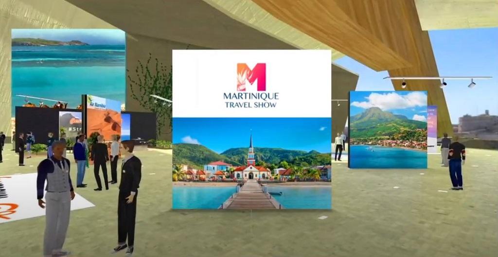 En attendant le retour des visiteurs, le Comité martiniquais du tourisme organise le Martinique Travel Show, son salon virtuel B2B, du 18 au 20 mai 2021. - DR CMT