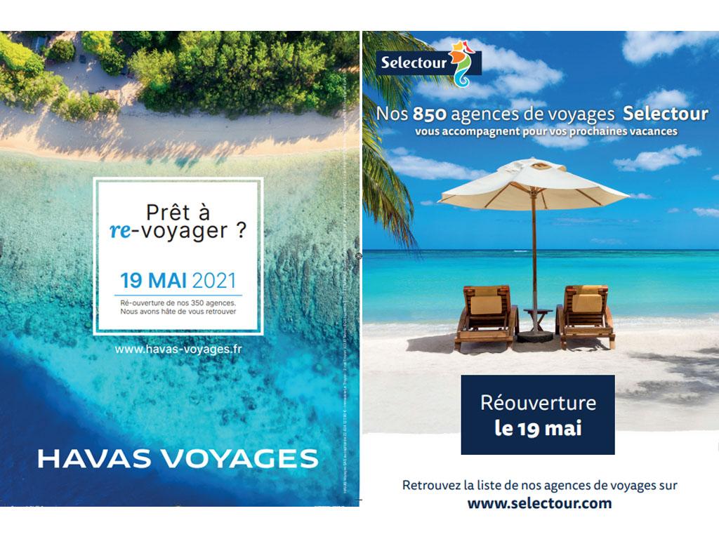 Havas Voyages va communiquer dans le Figaro et Selectour dans le JDD - DR