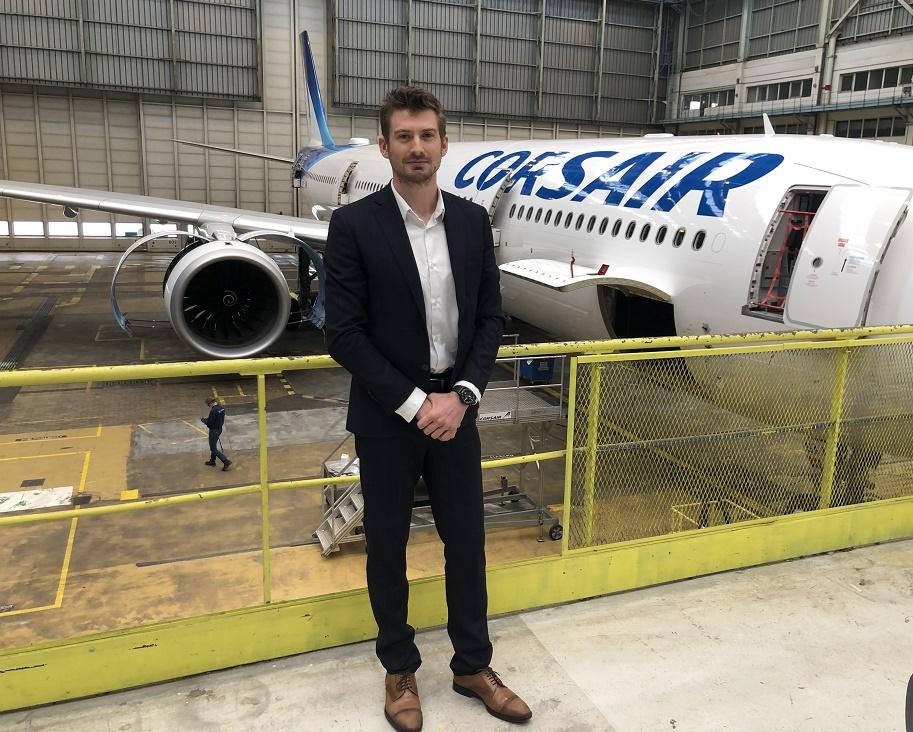 Yann Reber est nommé Directeur Technique de la compagnie aérienne Corsair - DR