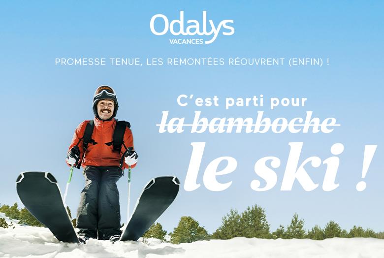 Odalys lance une offre de courts séjours valable dans ses résidences à Chamonix, aux Deux Alpes et à Tignes pour partir skier sur les glaciers - DR : Odalys