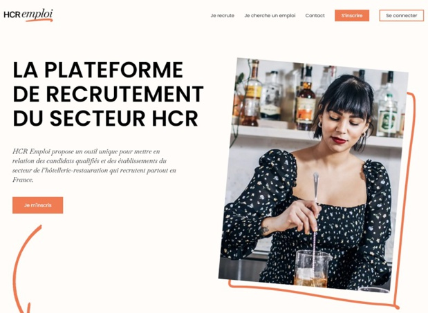 HCR Emploi, la plateforme de recrutement pour les hôtels et restaurants est opérationnelle. 10 000 candidatures qualifiées sont référencée. - DR HCR Emploi/Umih