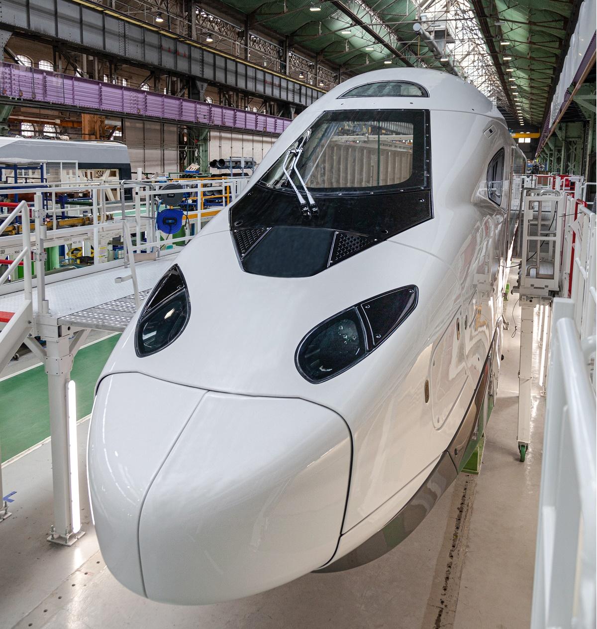 La nouvelle motrice TGV M dévoilé par Alstom et la SNCF - DR