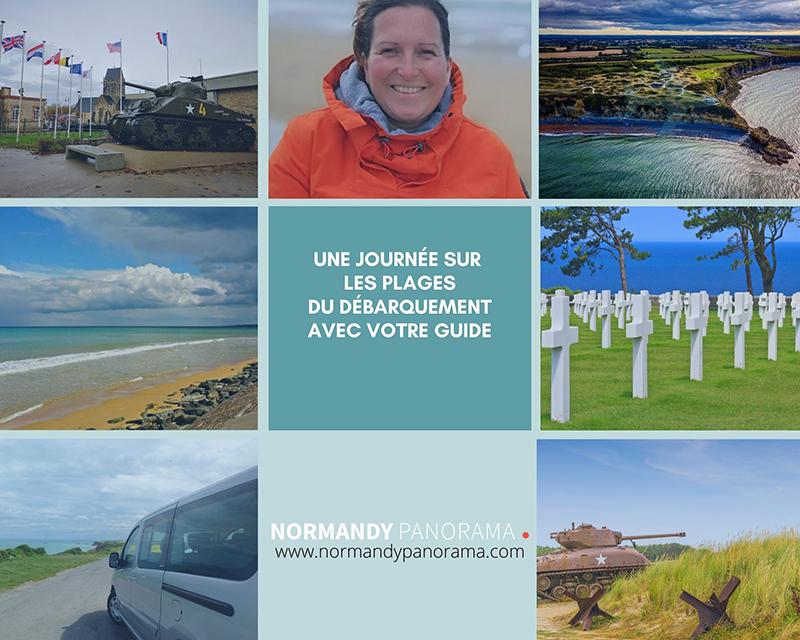 Les plages du débarquement © Normandy panorama
