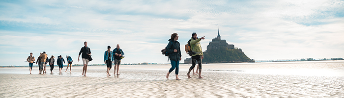 © OTMSM - Jim Prod / La traversée de la baie du Mont Saint-Michel
