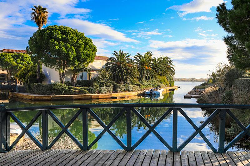 Île de la Lagune © Office de Tourisme de Saint Cyprien - CRTL Occitanie