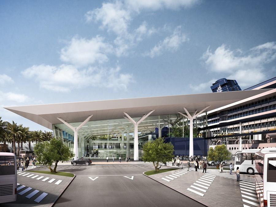 Le nouveau terminal de MSC Croisières à Barcelone devrait entrer en service en 2024 - MSC Croisièrs