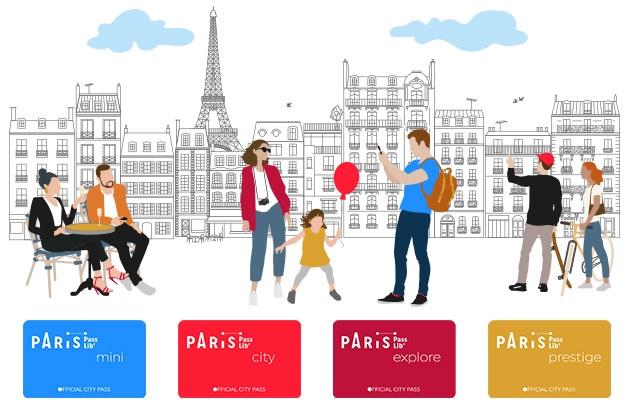 Le Paris Passlib' propose aux visiteurs et aux habitants de la capitale des activités sur-mesure - DR : OT Paris