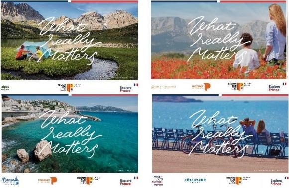 Le CRT Provence-Alpes-Côte d'Azur  s'est engagé dans une campagne de relance commune avec les 12 autres régions françaises de métropole -