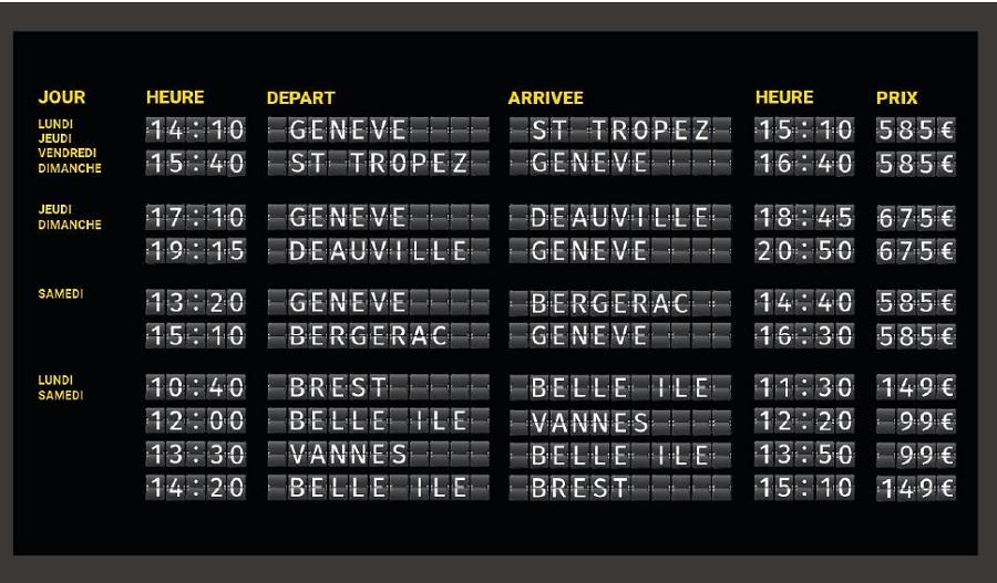Wingly Jet propose des allers simples en jet privé depuis Genève et Brest - DR