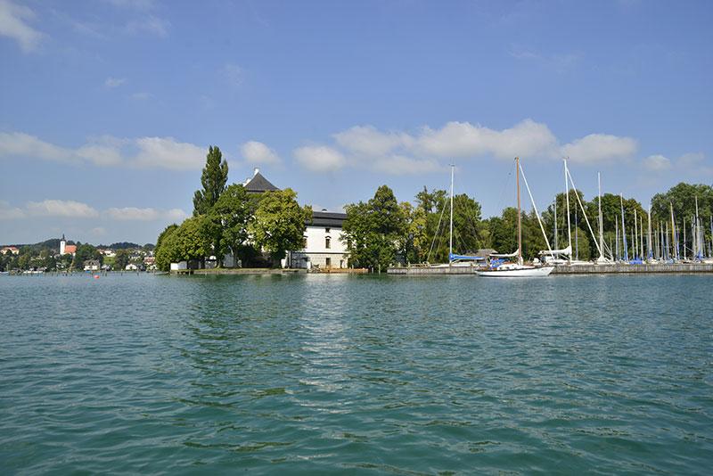 Le lac de l'Attersee, qui a inspiré Klimt © Österreich-Werbung Reinhold-Leitner