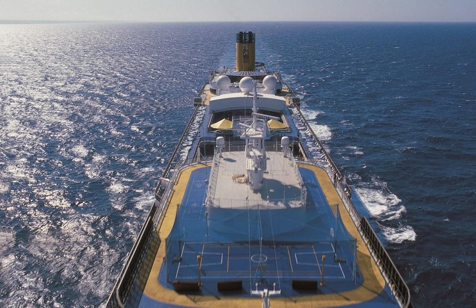 Les match de foot de l'Euro seront diffusés à bord des navires Costa jusqu'à la finale du 11 juillet 2021 - DR