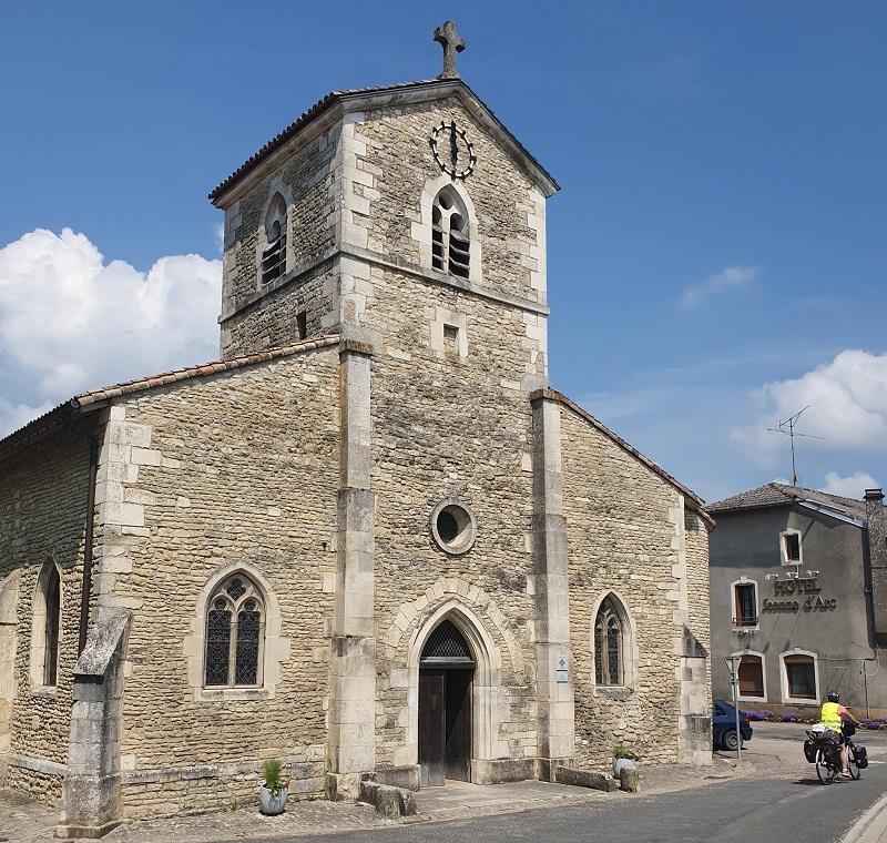 22 000 visiteurs découvrent chaque année la maison natale, la petite église et le centre d'interprétation Jeanne d'Arc - DR : J.-P. C.