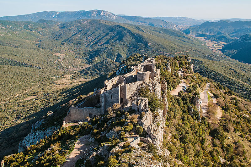 Château, Duilhac sous Peyrepertuse © ADT Aude
