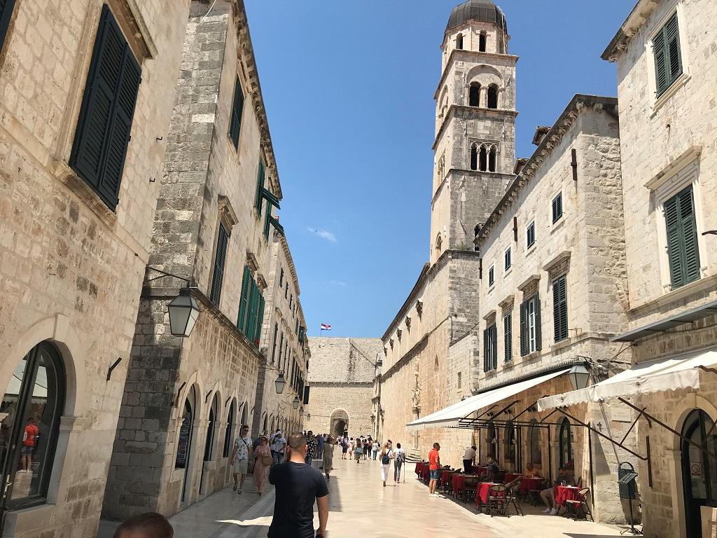 Les rues de la vieille ville de Dubrovnik - Photo JLR