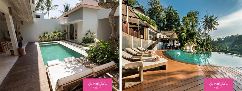 BALI : La tendance des villas hôtelières