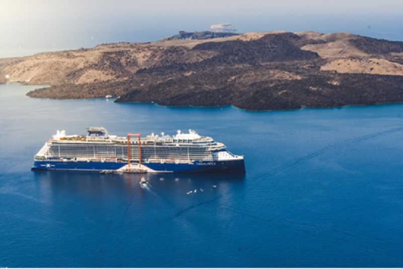 L'itinéraire du Celebrity Apex dans les îles grecques comprend des escales à Rhodes, Mykonos, Santorin, Limassol - DR : Celebrity Cruises