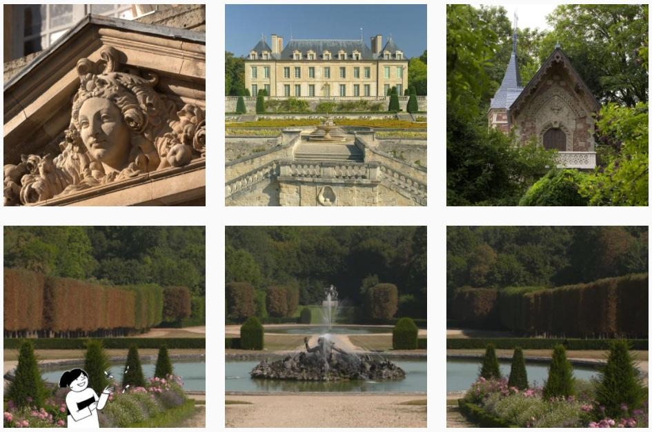 Le compte Instagram du Transilien SNCF pour découvrir des parcours touristiques - DR