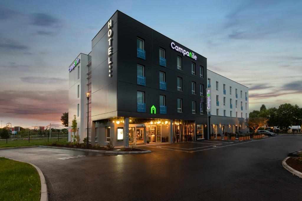 L'hôtel Campanile Smart Lyon Bron est un hôtel connecté qui propose une expérience sans contact - DR