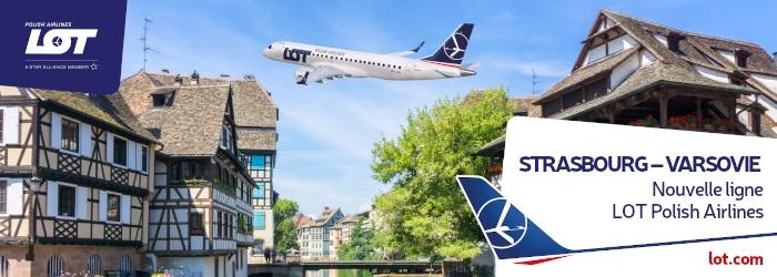 La ligne Strasbourg - Varsovie sera opérée les lundis et jeudis en semaine de session plénière au Parlement Européen, soit 1 à 2 fois par mois, à partir du lundi 5 juillet 2021. - DR