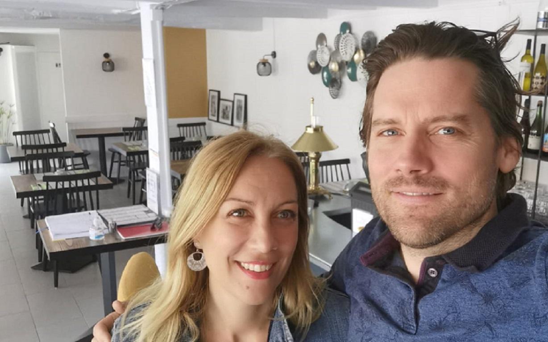 Après 20 ans dans le tourisme, Frédéric Abiven a quitté le secteur pour ouvrir une crêperie avec sa femme - DR : F.A.