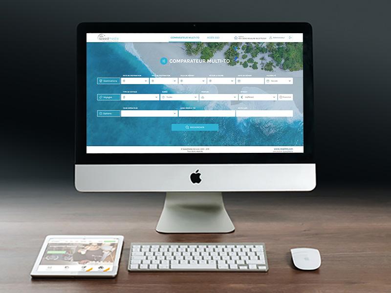Comparateur B2B et coffre-fort de mots de passe © SpeedMedia Services