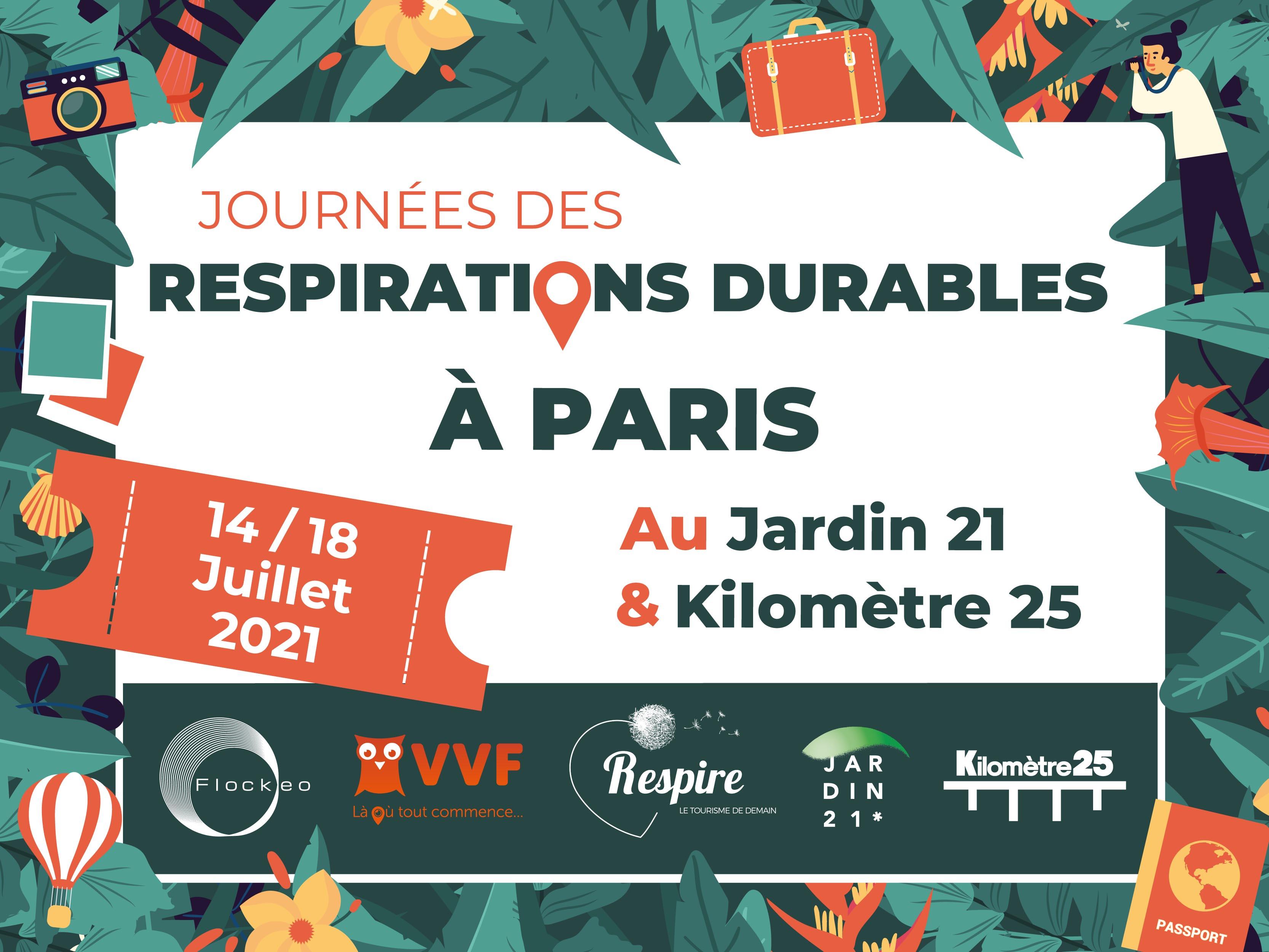 L'EFHT aux Journées des Respirations Durables © Respire, le tourisme de demain