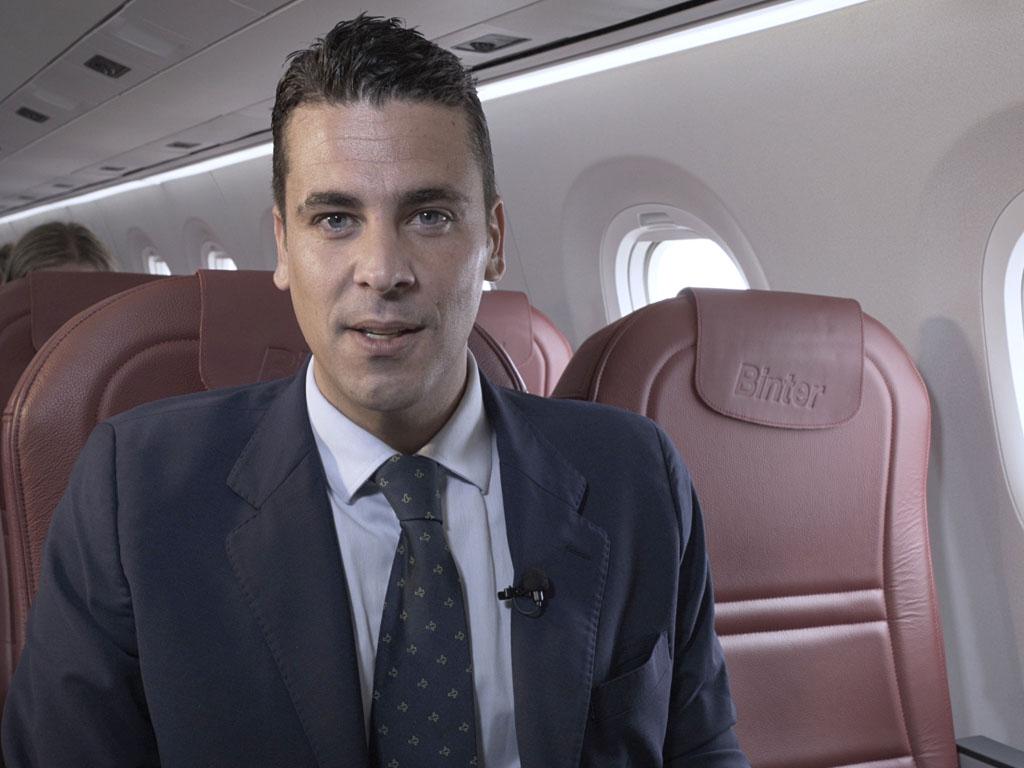 """Pablo Landrau (CEO Binter) : """"Nous ne sommes pas une compagnie charter. Nous ne travaillons pas sur de l'affrètement à 100% mais sur des allotements. Nous sommes ouverts aux partenariats avec les agences et les TO et nous travaillons déjà avec un certain nombre d'entre eux"""" - DR"""