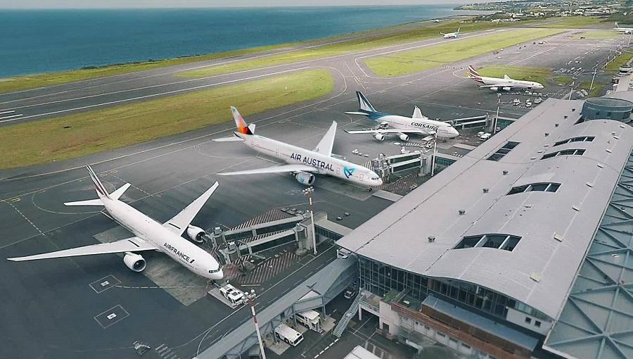 L'aéroport de la Réunion Roland Garros va restreindre l'accès à la zone d'enregistrement - Crédit photo : Aéroport Roland Garros