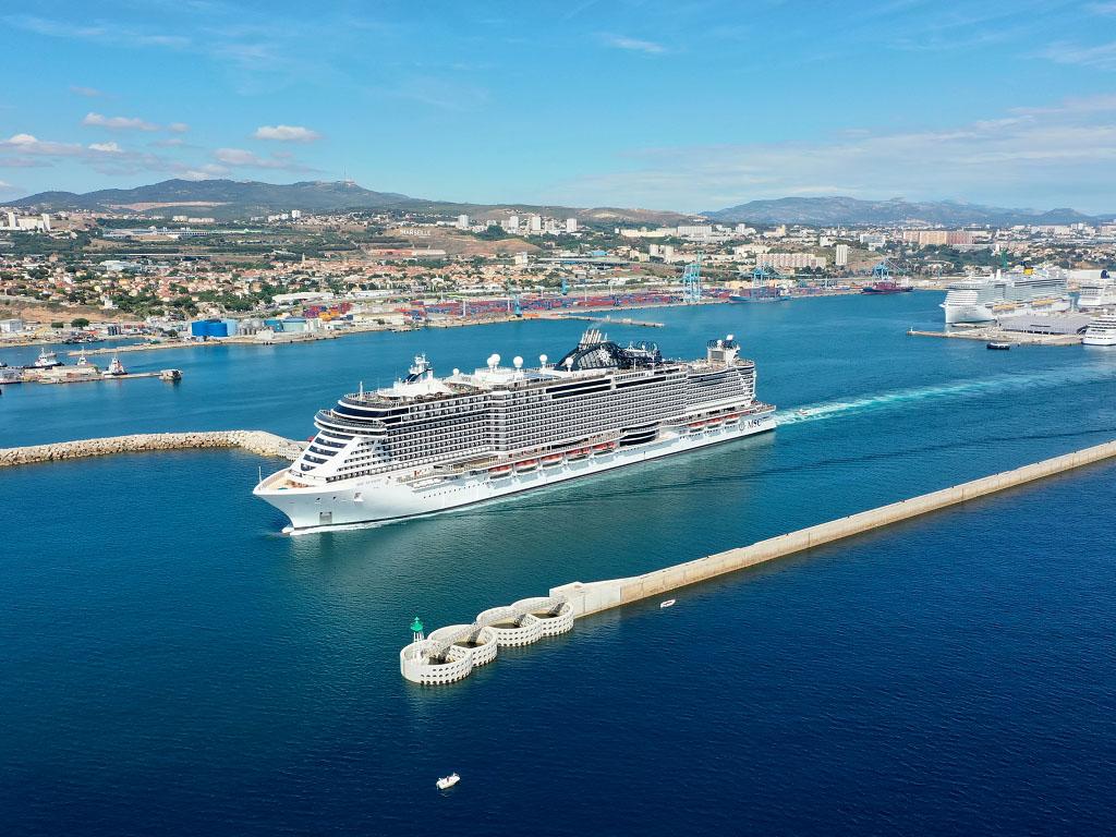 MSC Croisières positionnera 10 navires soit la moitié de sa flotte dès cet été en Europe du Nord, en Méditerranée et dans les Caraïbes au départ des USA - Photo Cédric Denoyer MSC Croisières