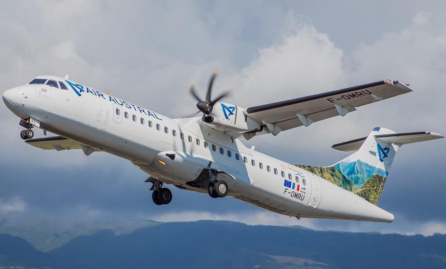 Air Austral proposera 2 rotations hebdomadaires opérées en ATR 72-500 - DR