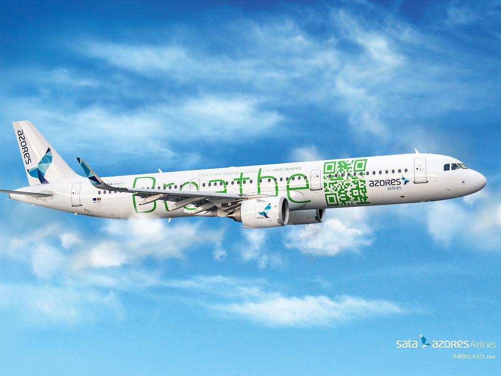 SATA Azores Airlines lance un vol direct entre Ponta Delgada dans l'archipel des Açores et Paris CDG avec un tout nouvel appareil l'A321neo - DR
