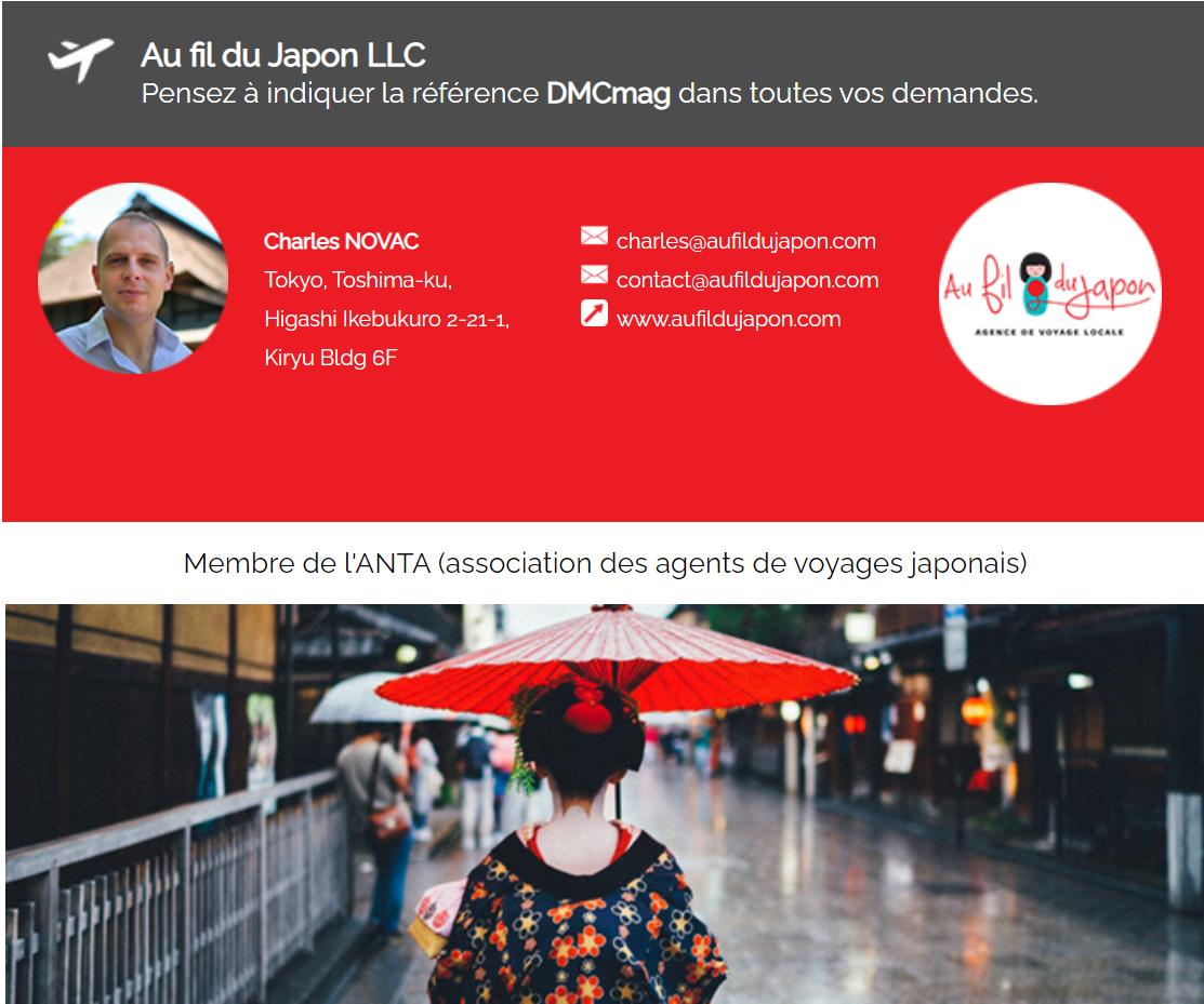 Au Fil du Japon, spécialiste du Japon rejoint DMCMag.com - DR