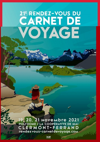 Clermont-Ferrand : le 21e Rendez-vous du Carnet de Voyage se tiendra du 19 au 21 novembre 2021