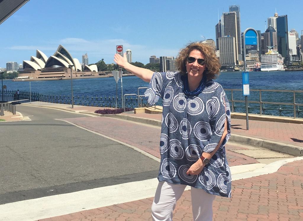 """Eva Seller, directrice Europe de Tourism Australia : """"Nous nous réjouissons d'accueillir à nouveau les visiteurs étrangers dès que nous serons en mesure de le faire"""" - DR : Tourism Australia"""
