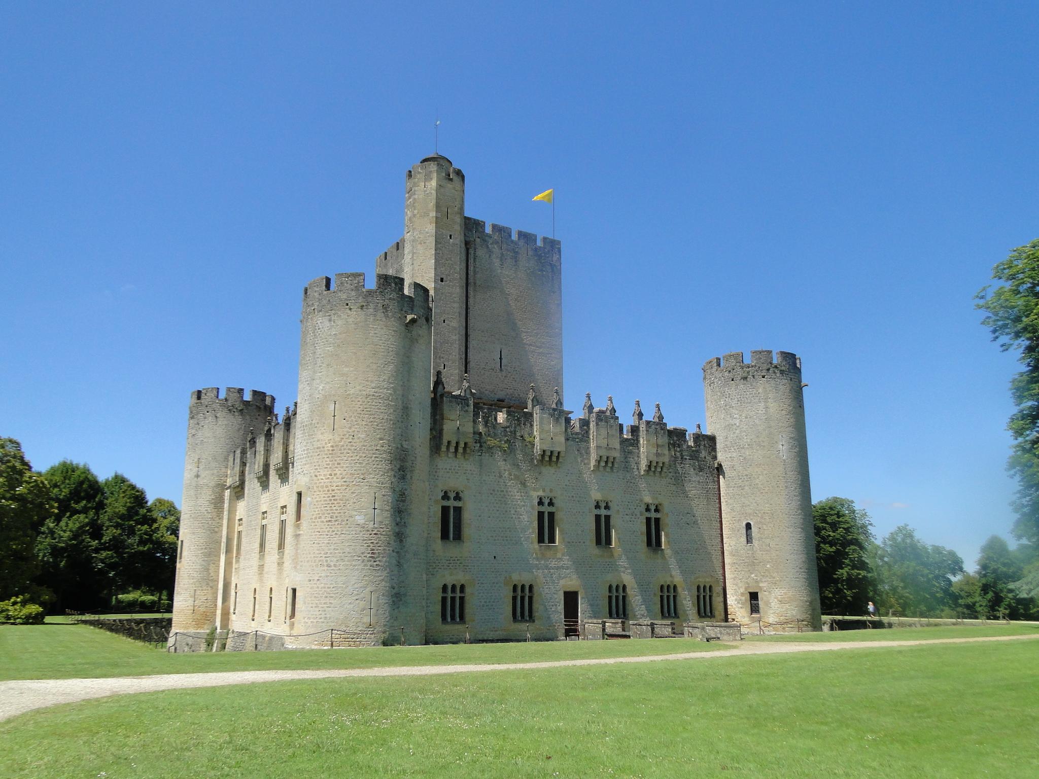 Chateau de Roquetaillade. Joyaux médiéval /crédit CH